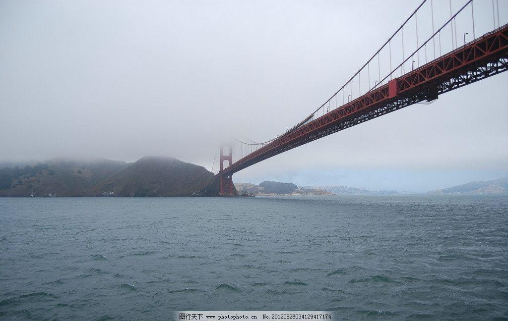 湖光 大桥 湖水 恶魔岛 建筑 远山 水面 旅游摄影