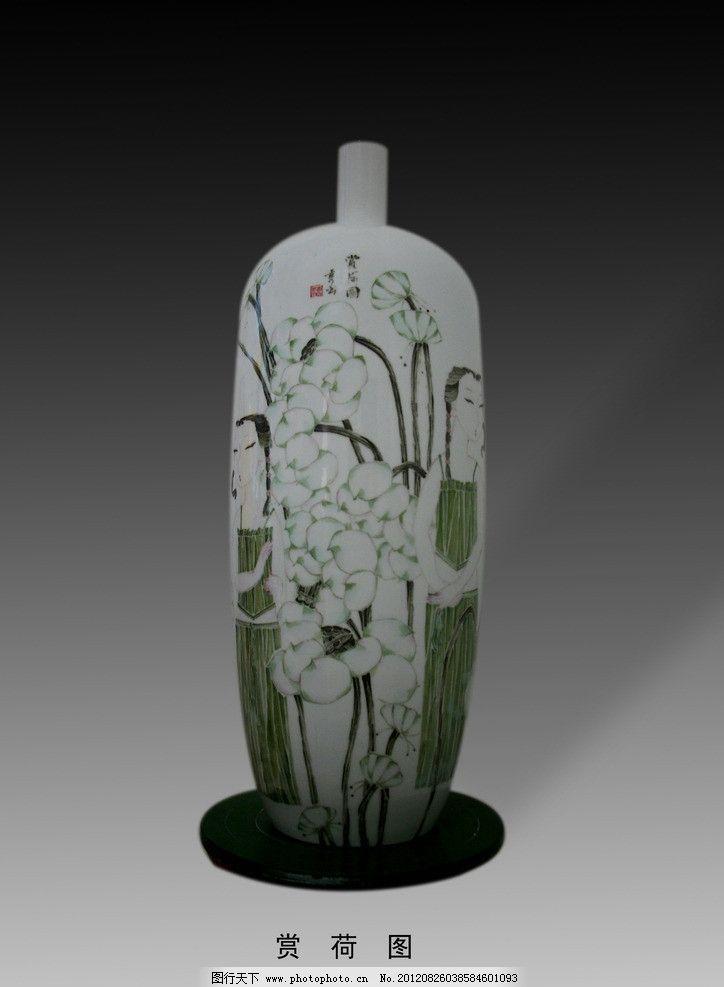 手绘陶瓷瓷瓶 梅瓶 景德镇 景德镇陶瓷 现代艺术 摆件 艺术品图片