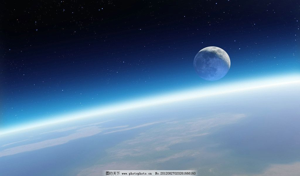 地球外太空壁纸图片