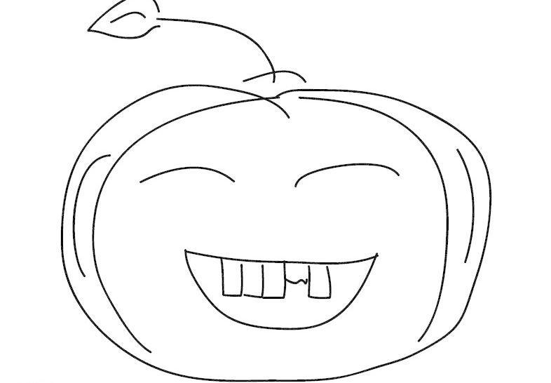 笑脸苹果 手绘