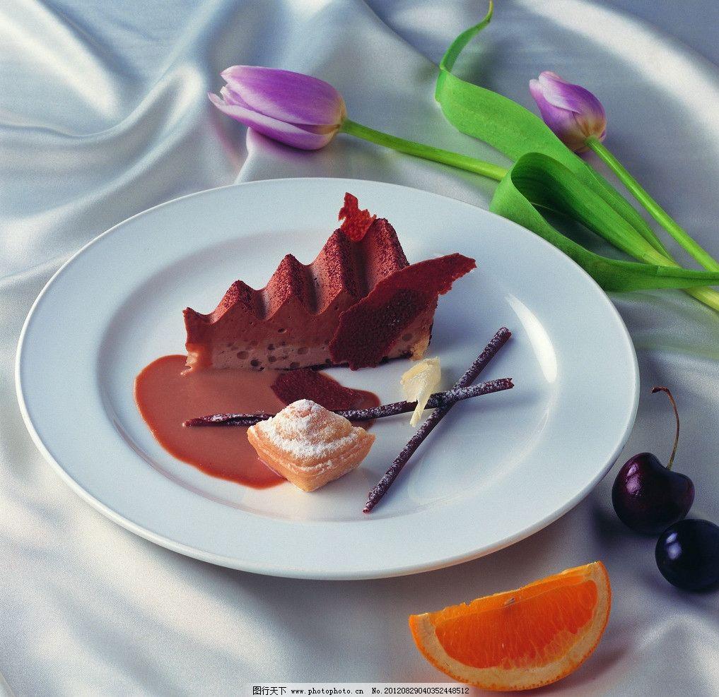 甜点 巧克力蛋糕 糕点 精致蛋糕 冷盘 新鲜蛋糕 西式糕点 西式甜点 郁图片
