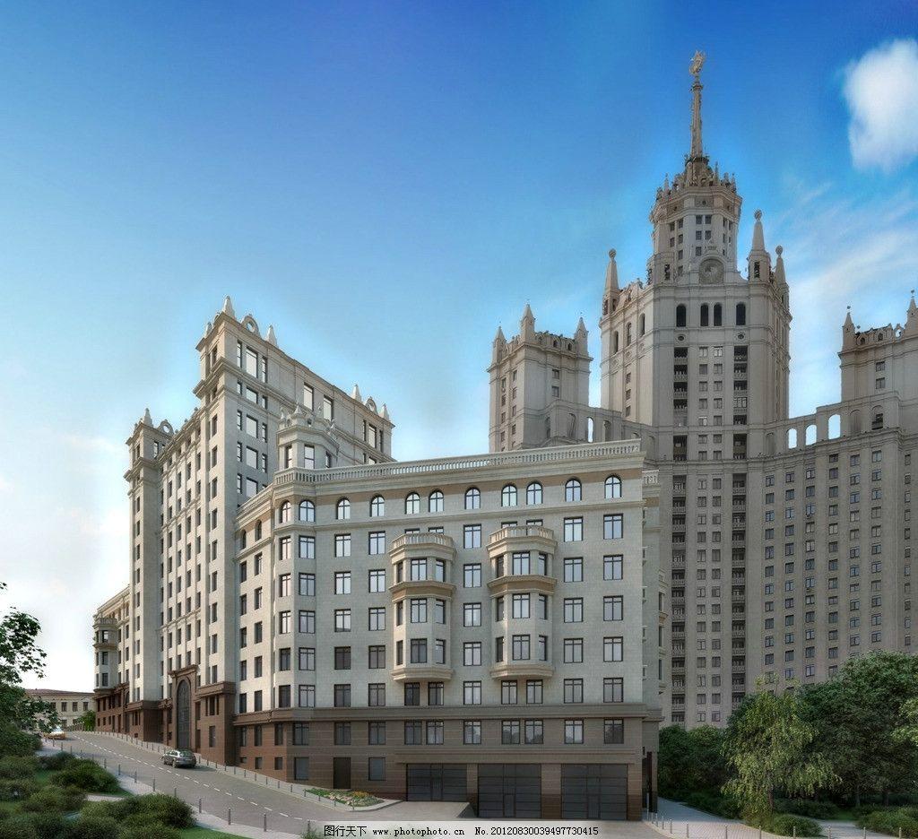 高层大厦 高层 欧式 大厦 大气 高楼建筑 建筑风情 建筑摄影 建筑园林