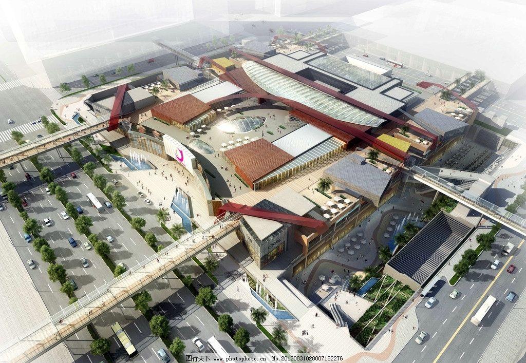 商场 商业 深国商俯视图 建筑物 深国商 建筑设计 环境设计 设计 72