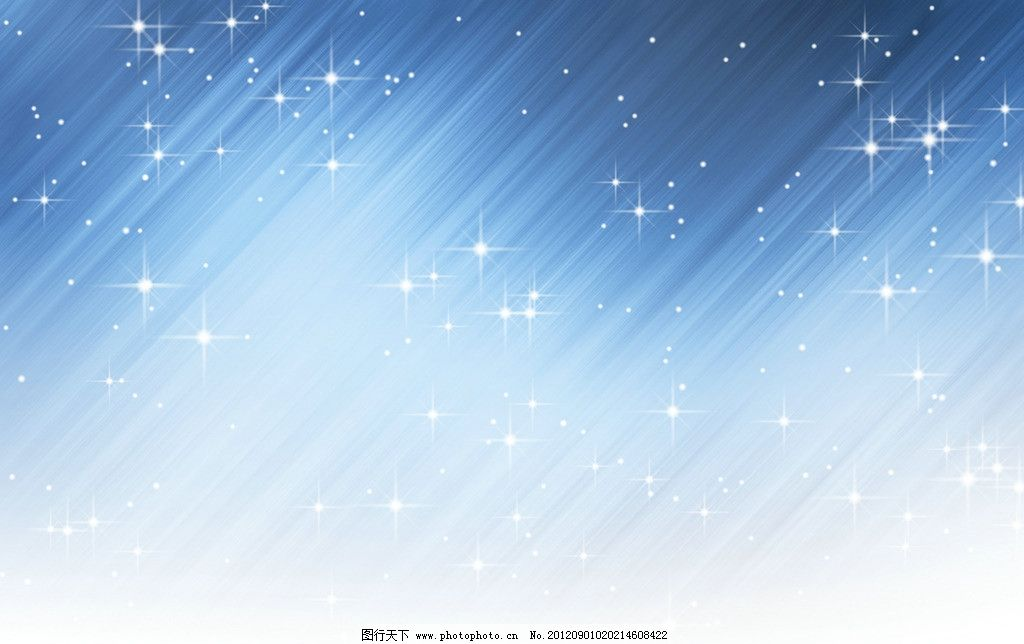 卡通流星雨背景图片
