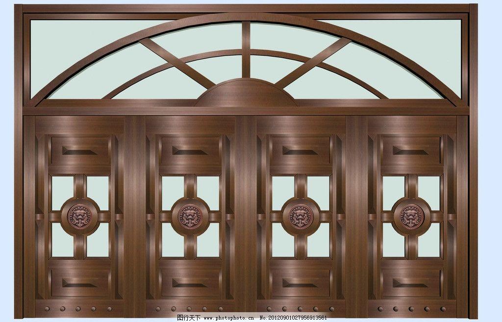 铜门 大铜门 铜门效果 紫铜 紫色铜门效果 圆弧造型铜门 圆弧铜门效果