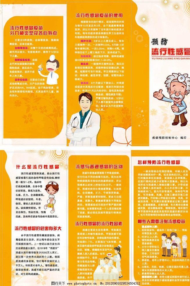 流行性感冒预防宣传