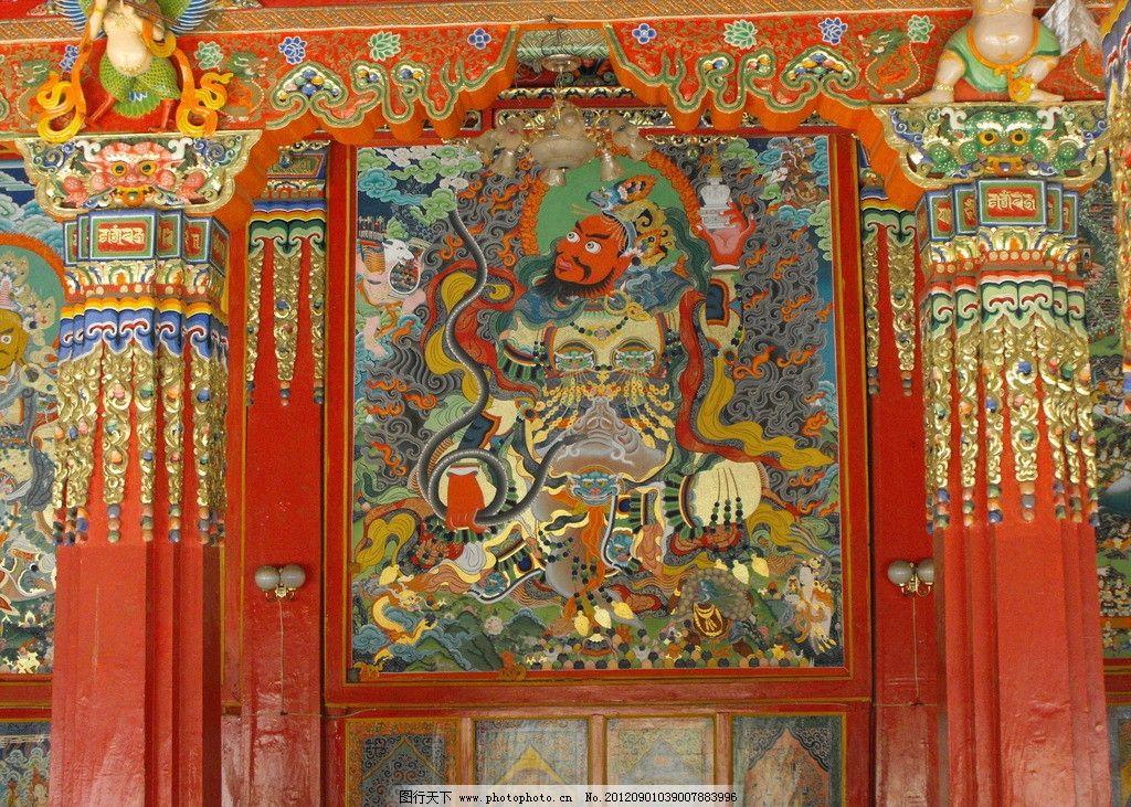 手绘佛像 佛教图案 古建彩绘 宗教壁画 古建筑彩绘 佛教建筑彩画 宗教