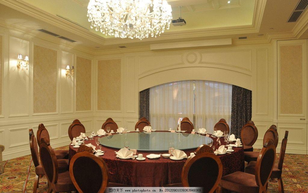 宴会包房 中餐 宴会厅 中式摆台 室内摄影 建筑园林