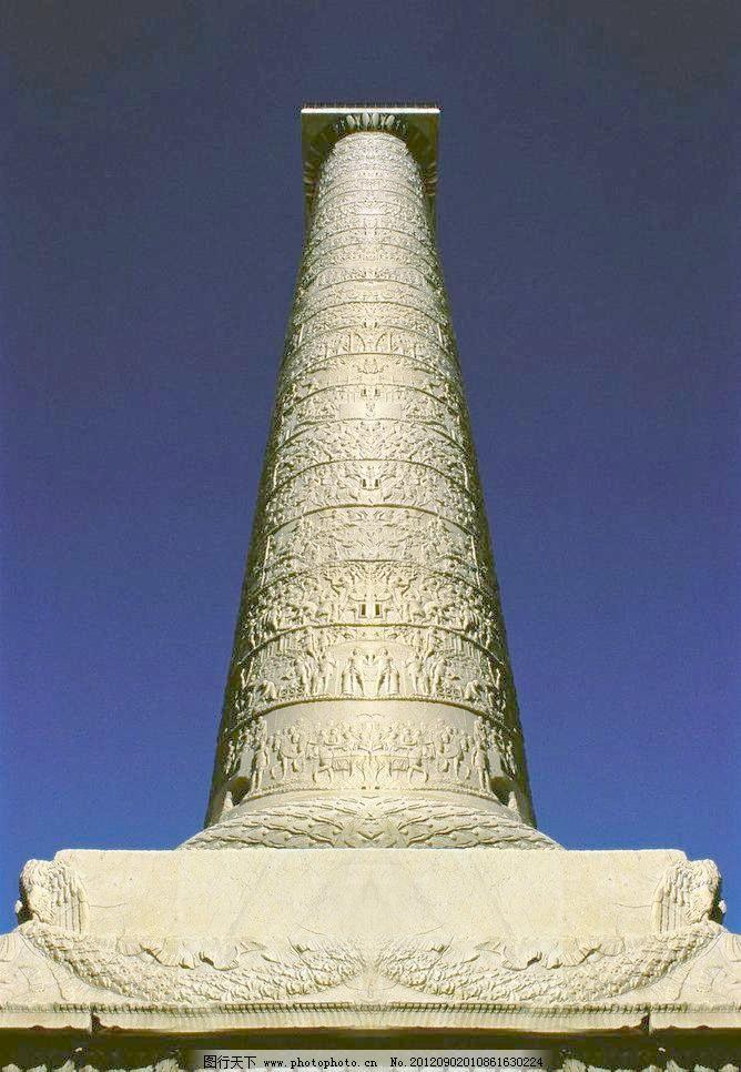欧式柱子图片素材下载