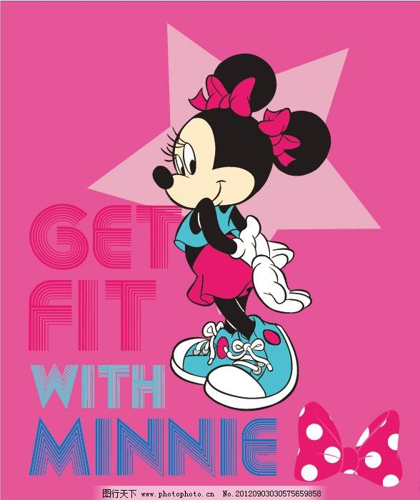 米奇 米老鼠 可爱米奇 蝴蝶结 米老鼠和唐老鸭 迪士尼系列 迪士尼动画
