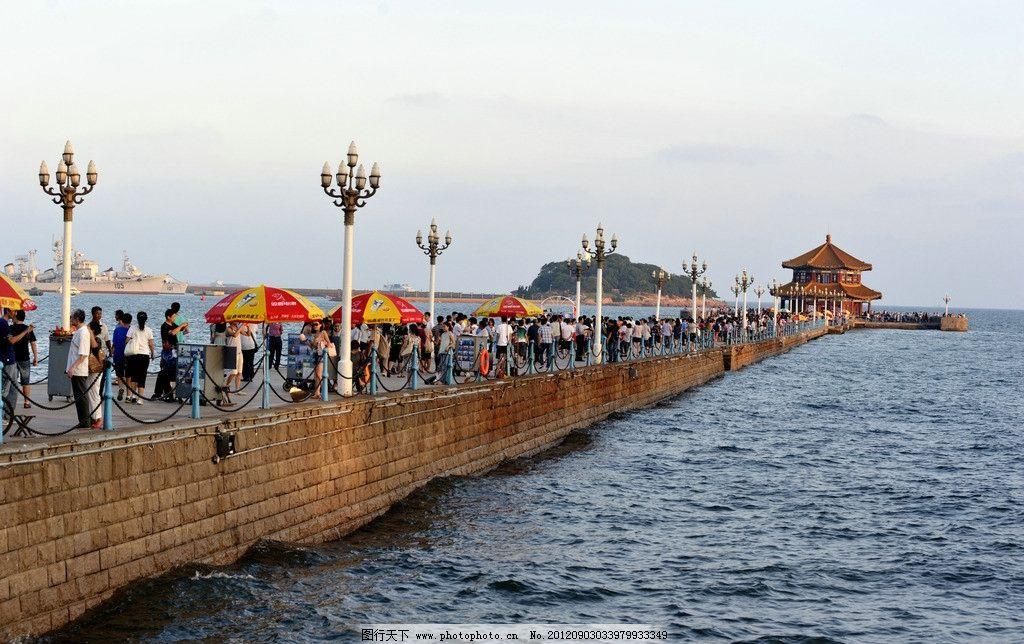 栈桥 青岛 旅游 海水 水面 建筑 美景 国内旅游 旅游摄影 摄影 300dpi