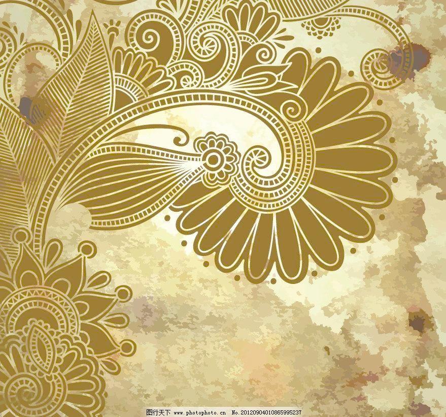 欧式 古典 花纹 花边 花朵 浪漫 墙纸 壁纸 古典花纹 欧式花纹 时尚