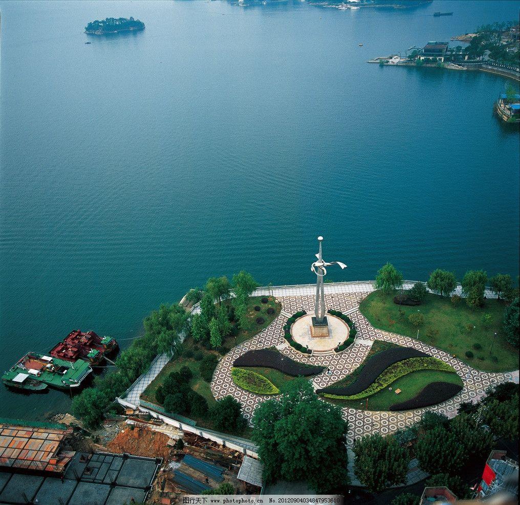 千岛湖湖滨公园 杭州 旅游 摄影