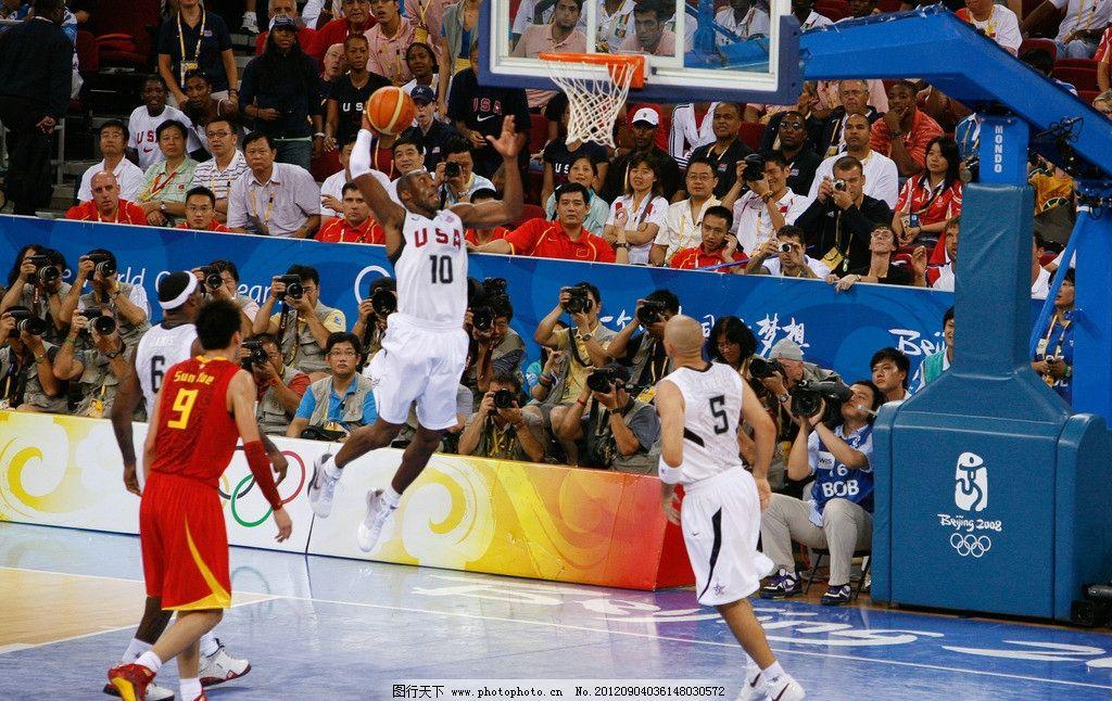 科比奥运会上扣篮图片图片