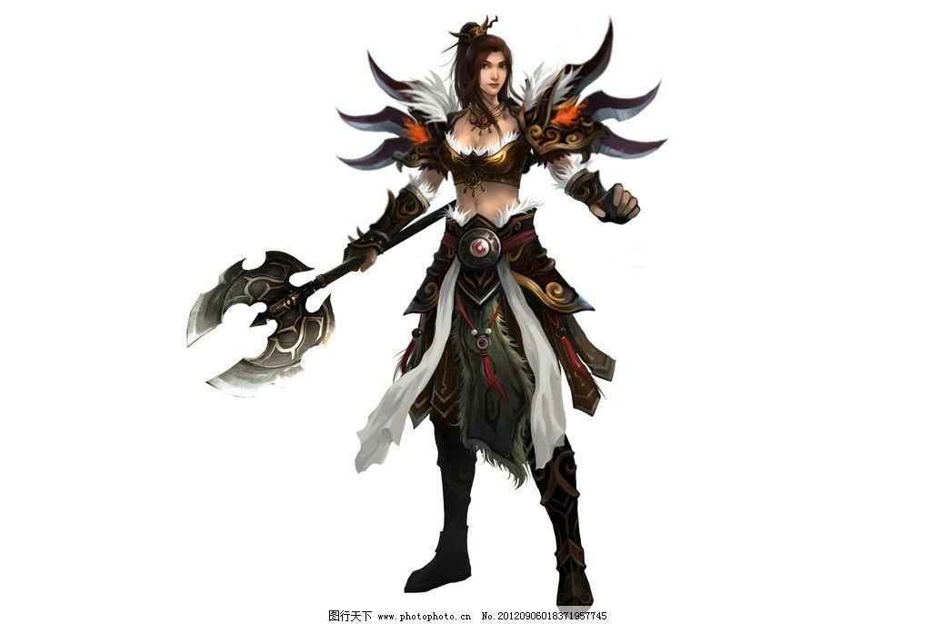 游戏原画 人物素材 动漫人物 设计 仙侠 游戏美女 游戏人物 游戏角色