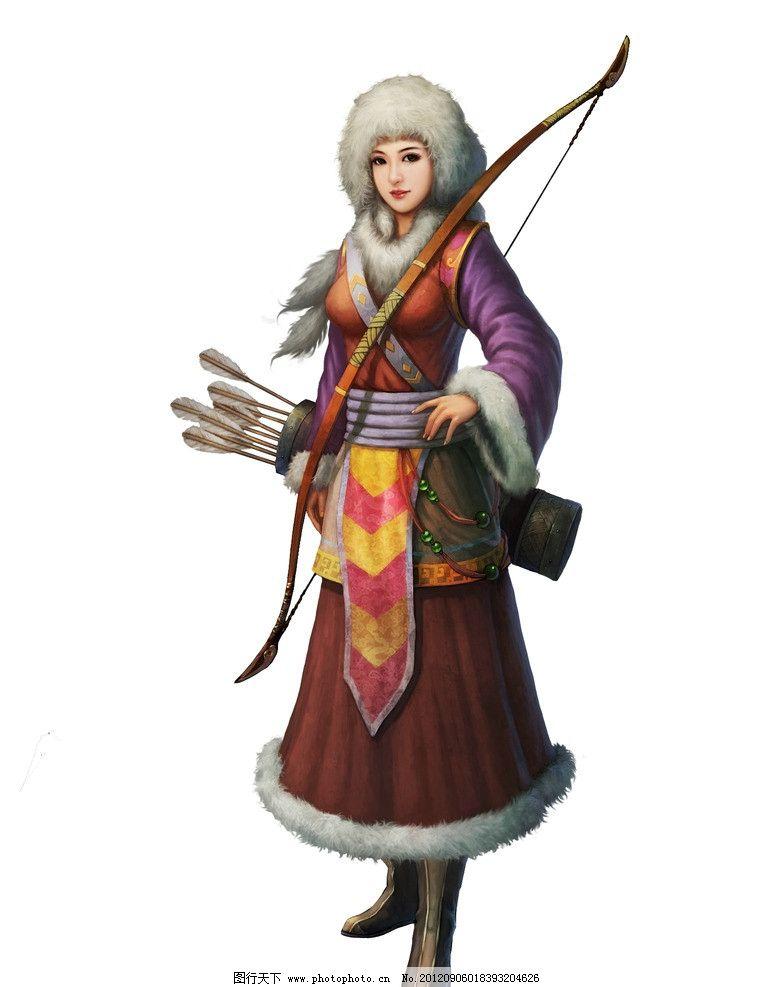 武侠角色 美女 人物素材 动漫人物 武侠 游戏美女 游戏人物 游戏角色