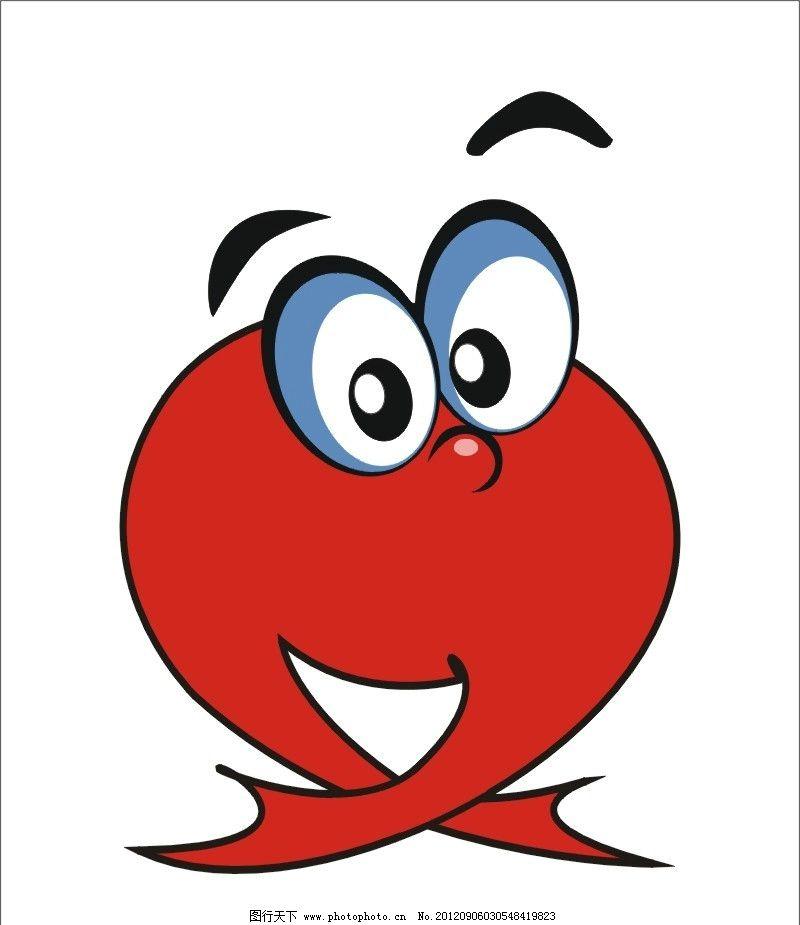 卡通小动物 卡通人 手绘小人 红色小人 红色素材 矢量cdr 小动物 手绘