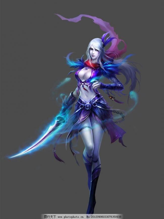 动漫人物 动漫设计 美女 人物设计 人物素材 设计 仙侠角色 美女 游戏