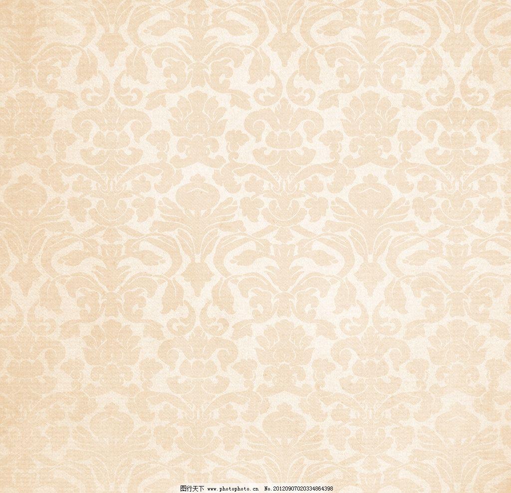 渐隐 连续 对称 欧式 花纹 豪华 华丽 精美 怀旧 纸张 渲染 晕染 纹理