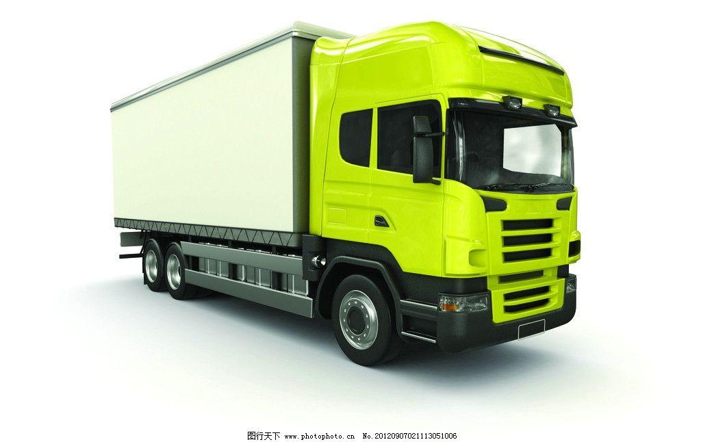 卡车 货车 3d设计 重卡 运输车 汽车 交通工具 现代科技 车辆高清图片