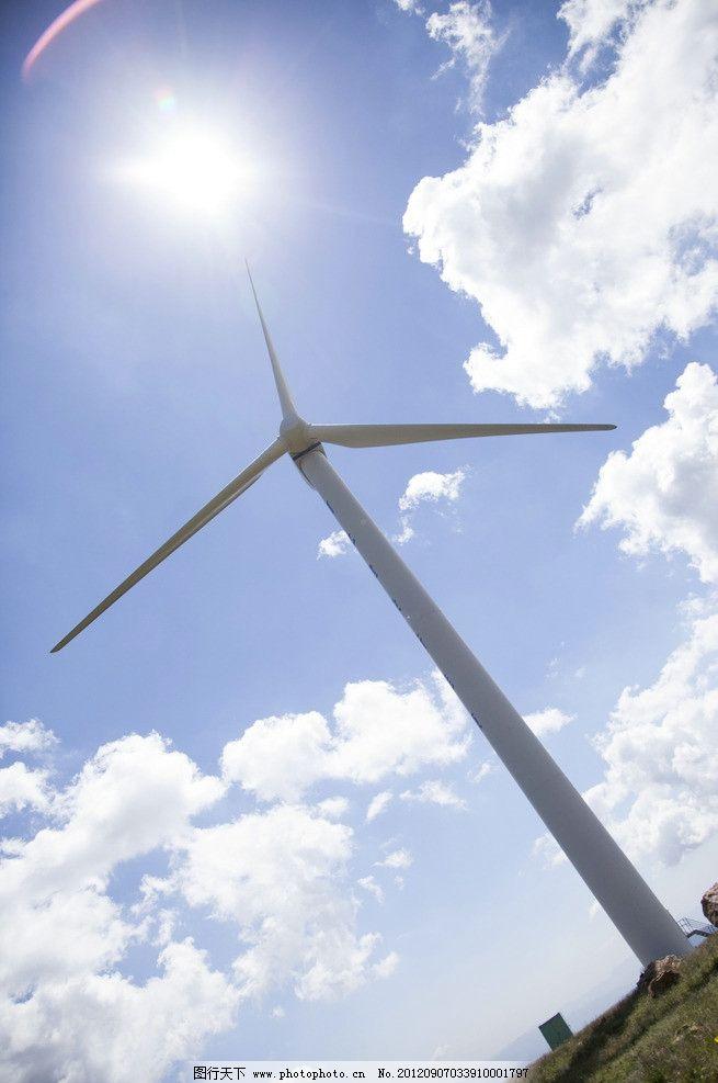 科技小制作风车滑翔机
