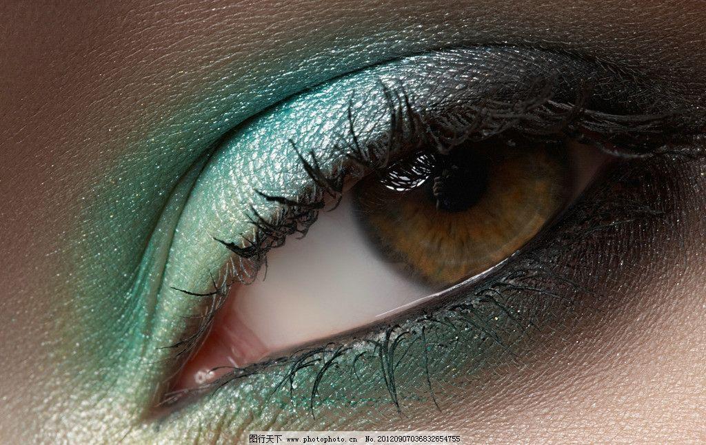人眼 迷人 明亮 眉毛 眼睫毛 美丽眼睛 眼睛美女 晶状体 心灵窗口
