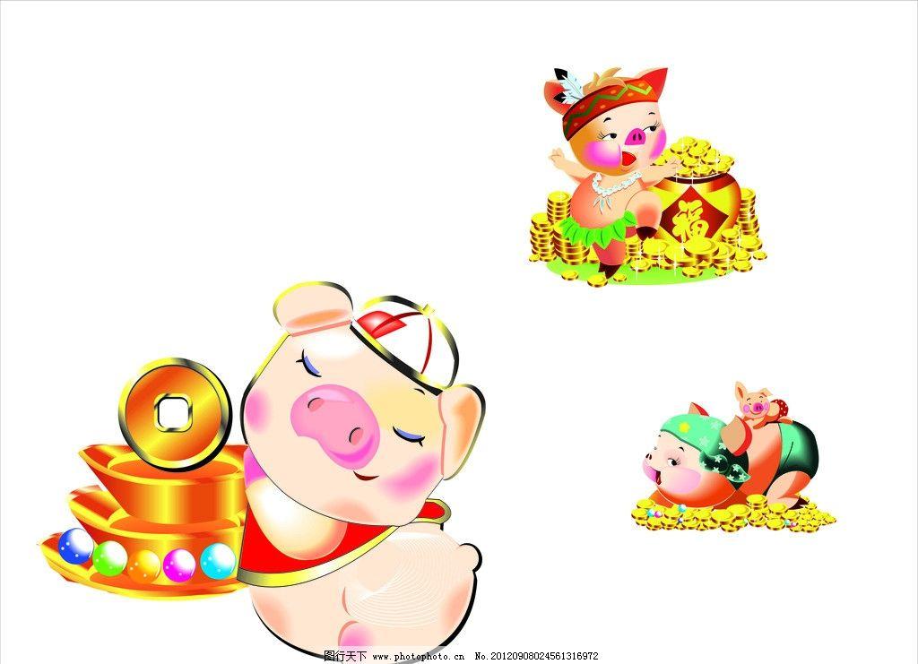简笔画连环画猪猪