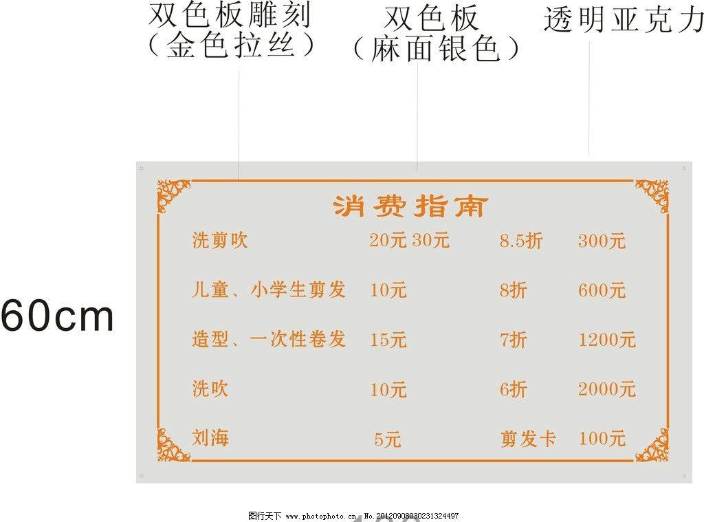 标牌 展板模板 广告设计 矢量 cdr