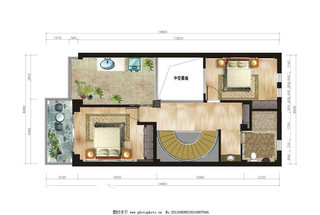 户型图 别墅户型 户型素材 家配图 地中海 欧式 尊贵 大气 奢华 沙发