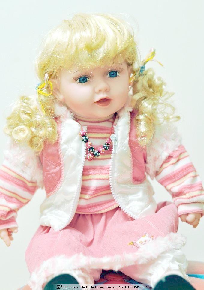 300dpi jpg 布偶 大眼睛 工艺品 金发 可爱 其他 摄影 娃娃 洋娃娃