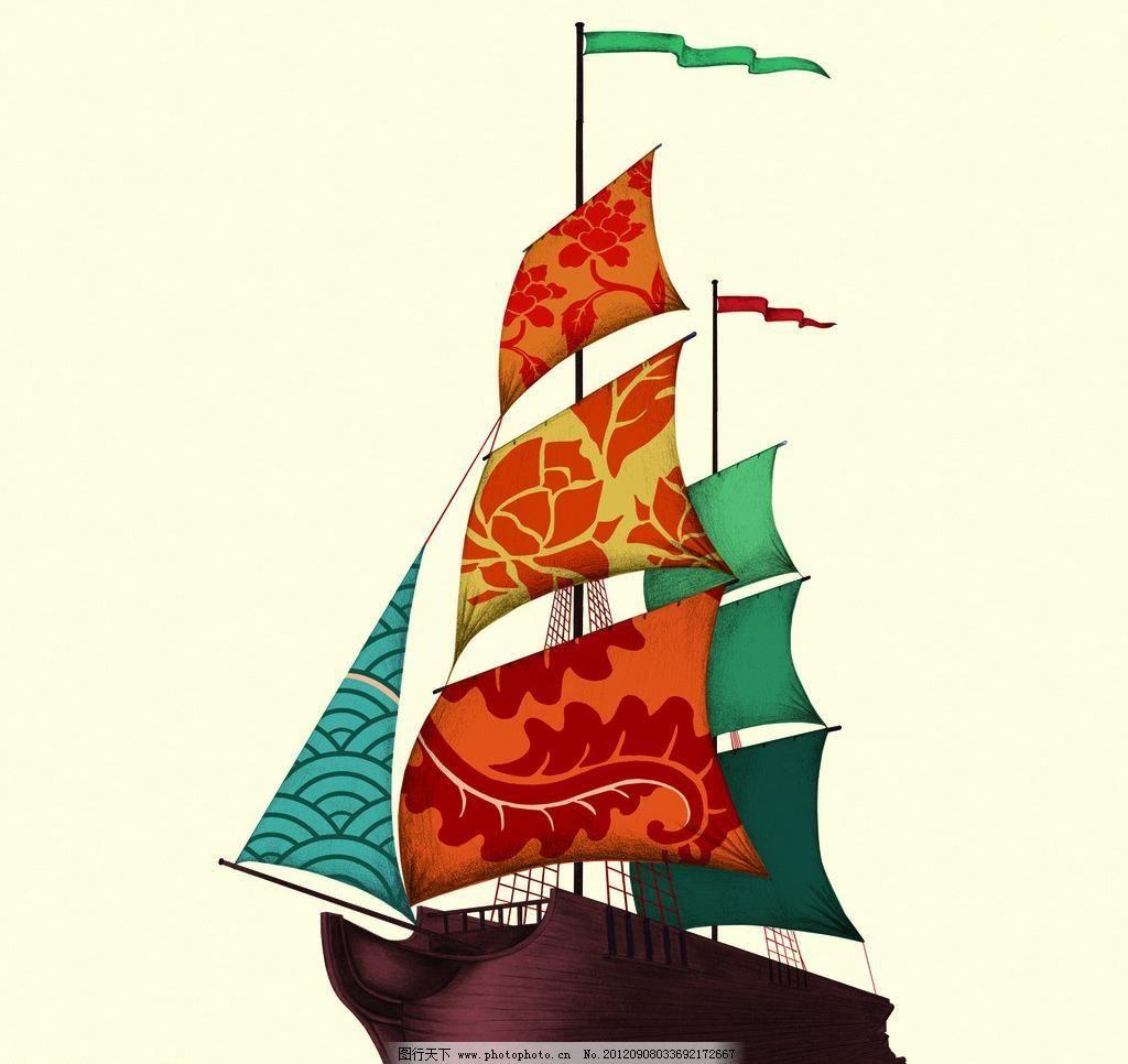 乌龙茶 饮料 源文件 中国风 东方树叶船(psd合层)设计素材 东方树叶船