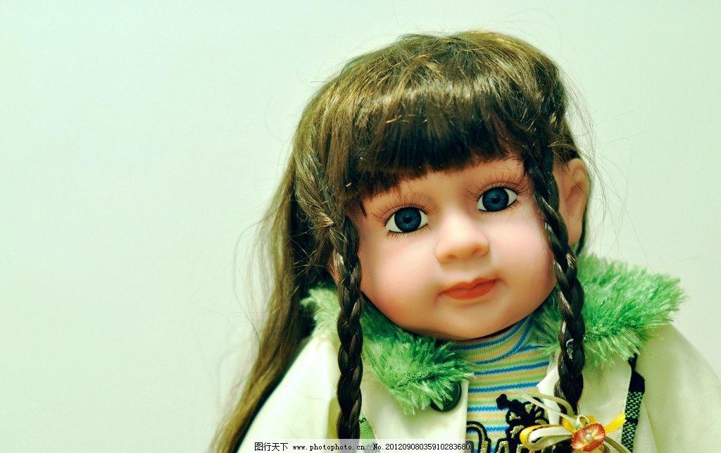 洋娃娃 玩具 布偶 玩偶 西方小孩 可爱 大眼睛 小公主 辫子