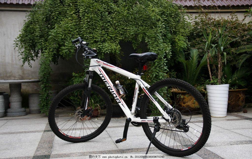 山地车 自行车 花纹轮胎 刹车 交通代步工具 摄影