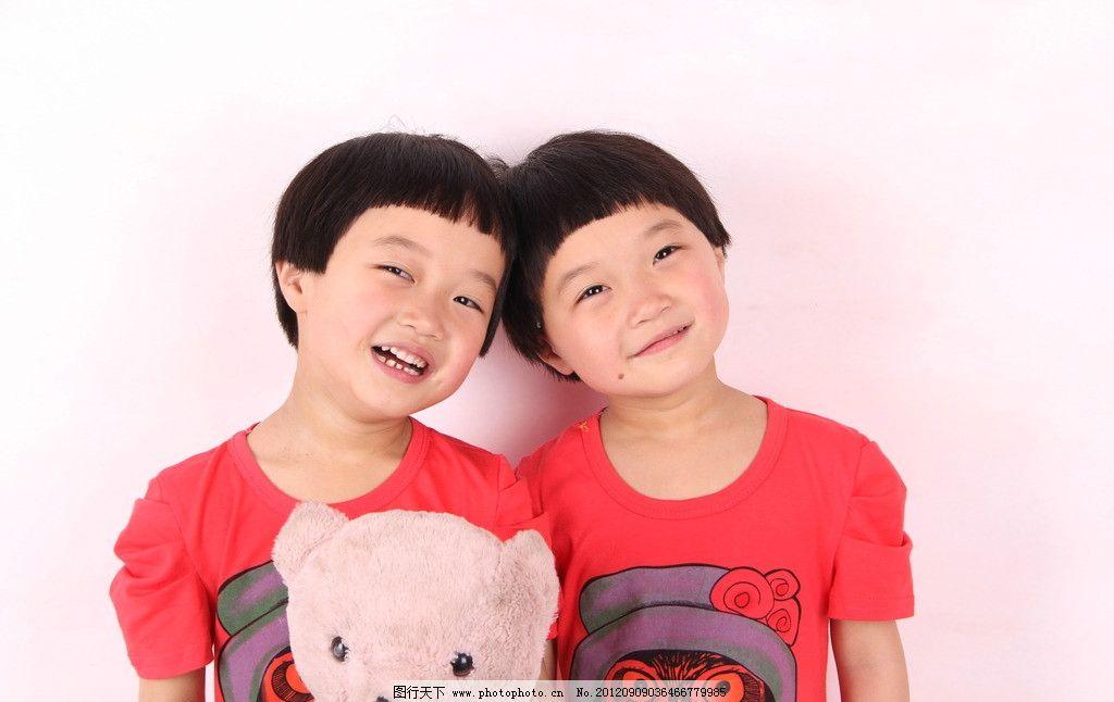 明美明珠 可爱双胞胎 小女孩 儿童 双胞胎 儿童幼儿 人物图库 摄影 72