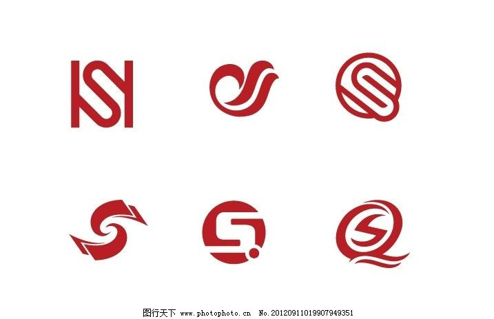 sq字母標志 字母s 字母q sq設計 企業logo標志 標識標志圖標 矢量 ai