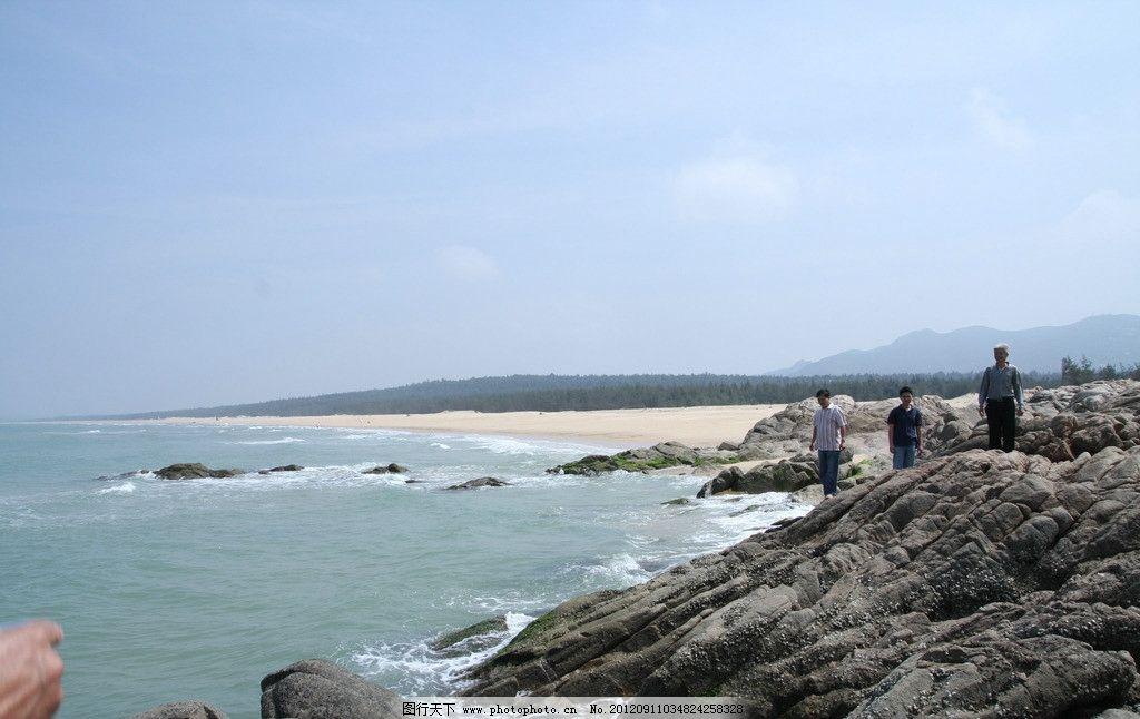 蓝天白云大海石头 浩瀚大海 大海 蓝天 白云 海水 海边 自然风景 自然