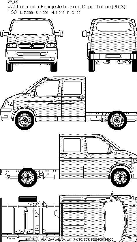 大众汽车线框图图片