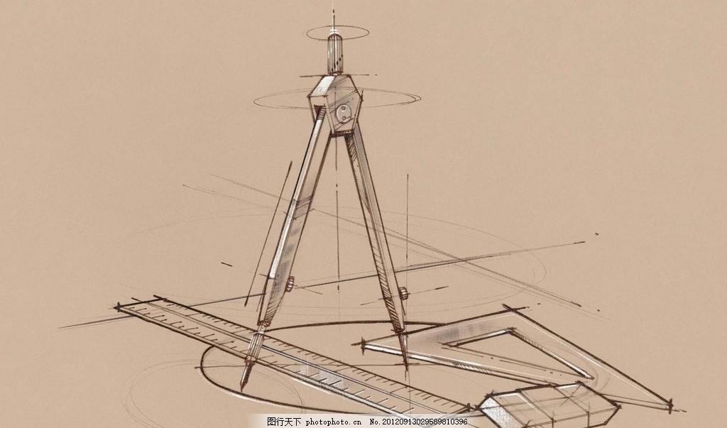 设计线稿 线描 手绘 单色 画图工具