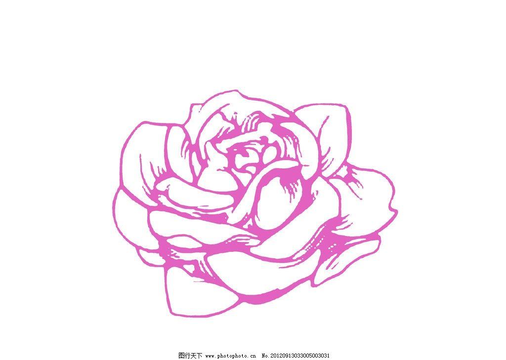 卡通花朵 鲜花 可爱花 矢量素材 其他矢量 源文件