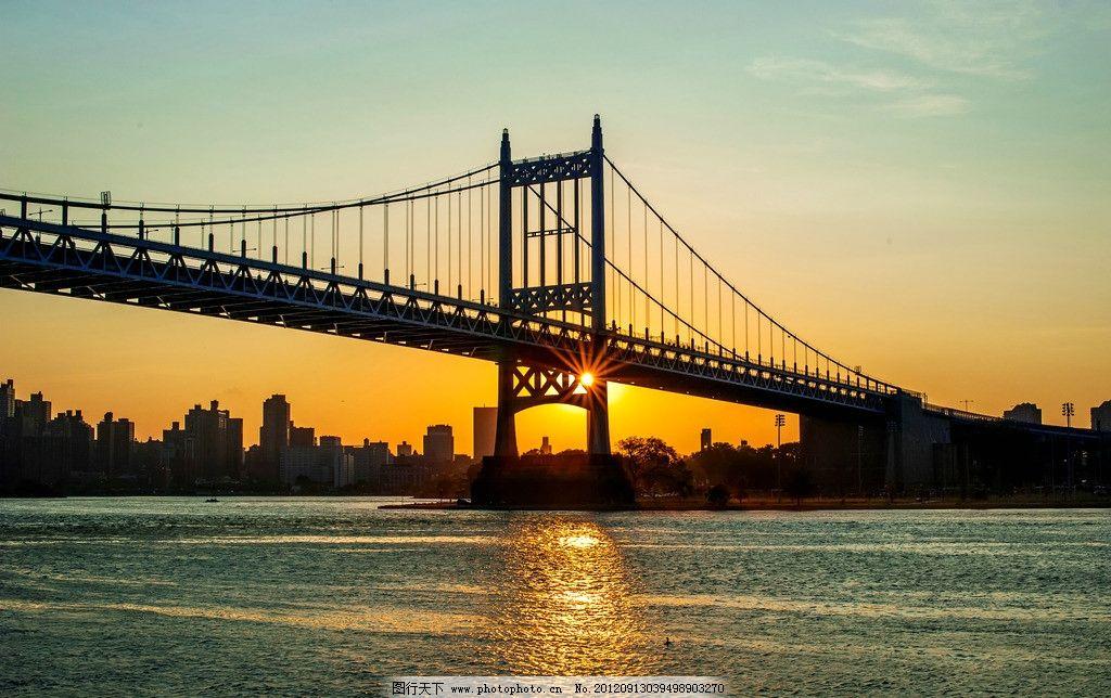 跨海大桥 现代大桥 桥 桥梁 夕阳 落日 晚霞 海水 大桥图片 大桥风光