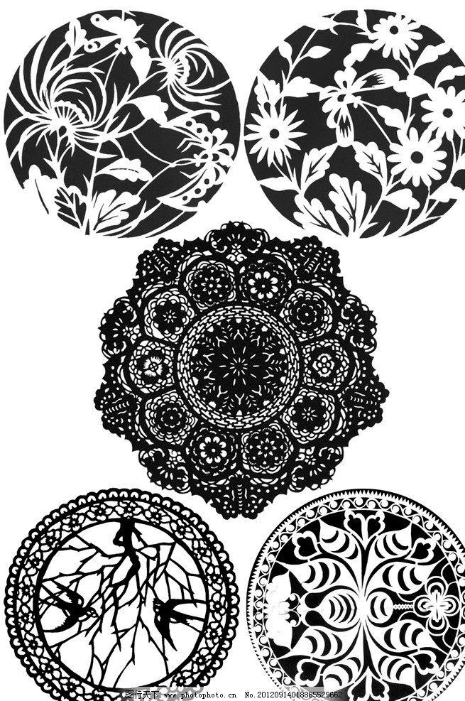 手绘花卉变形_装饰图案花卉图片-装饰图案彩色|花卉的装饰图案设计图片|黑白 ...