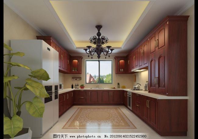 别墅厨房图片免费下载