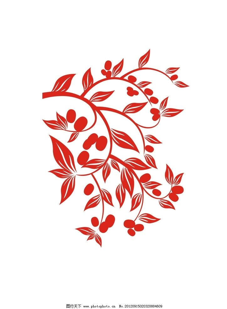 花纹 边框 底纹 树叶 圆 矢量 节日素材 喜庆 喜庆素材 枣叶