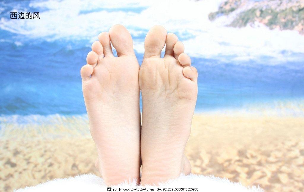 足底 脚 美脚 脚底 玉足 海滩 女性女人 人物图库 摄影 72dpi jpg