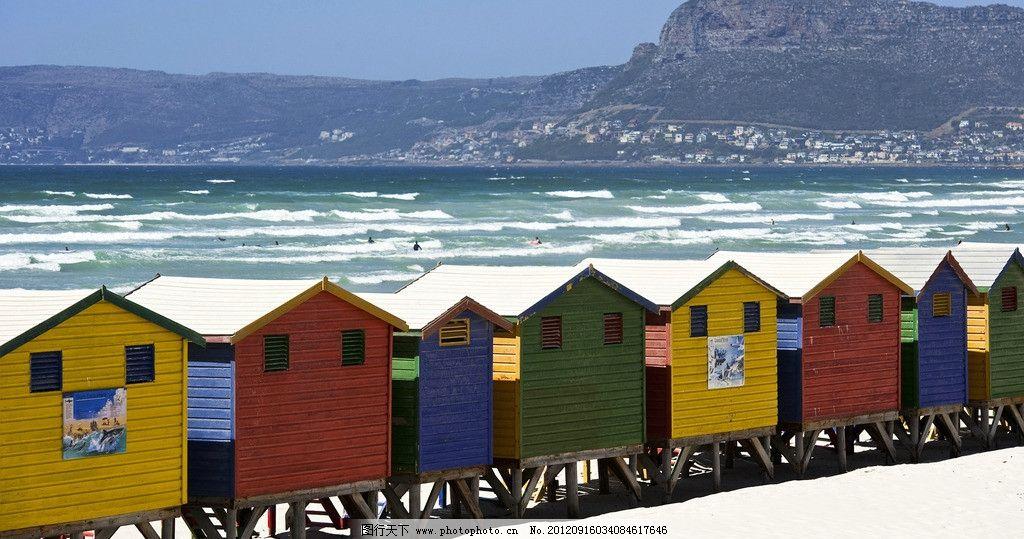 海边木屋图片
