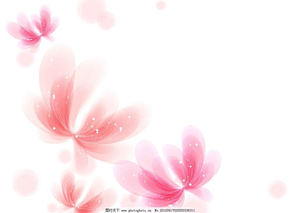 粉红花瓣溶图图片图片