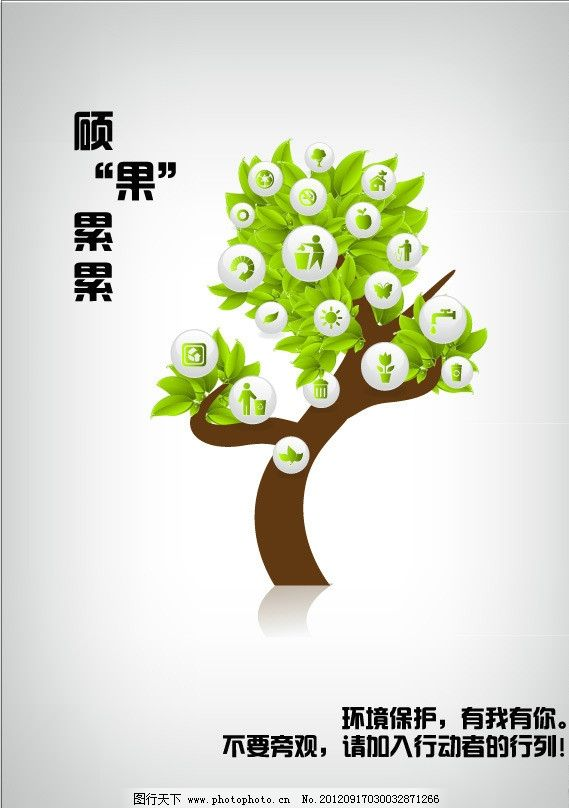 绿色环保 环境保护图片_海报设计_广告设计_图行天下