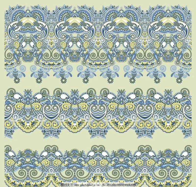 欧式花纹图片,古典 花边 边框 角花 边角 花卉 卡片