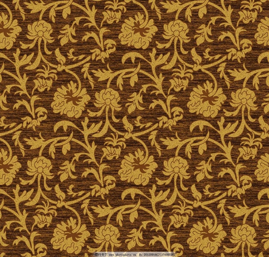 地毯 欧式 花 树叶 藤花 花边花纹 底纹边框 设计 16dpi jpg