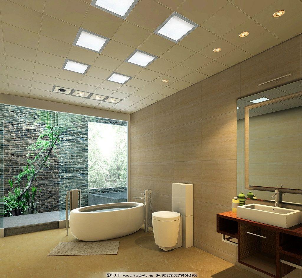 吊顶效果图图片,集成吊顶效果图 卫生间 欧式 奢华-图